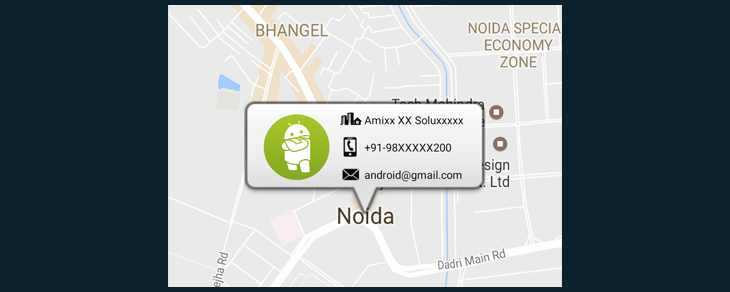 Android Google Maps V2 With Custom Marker Android Learning Tutorials